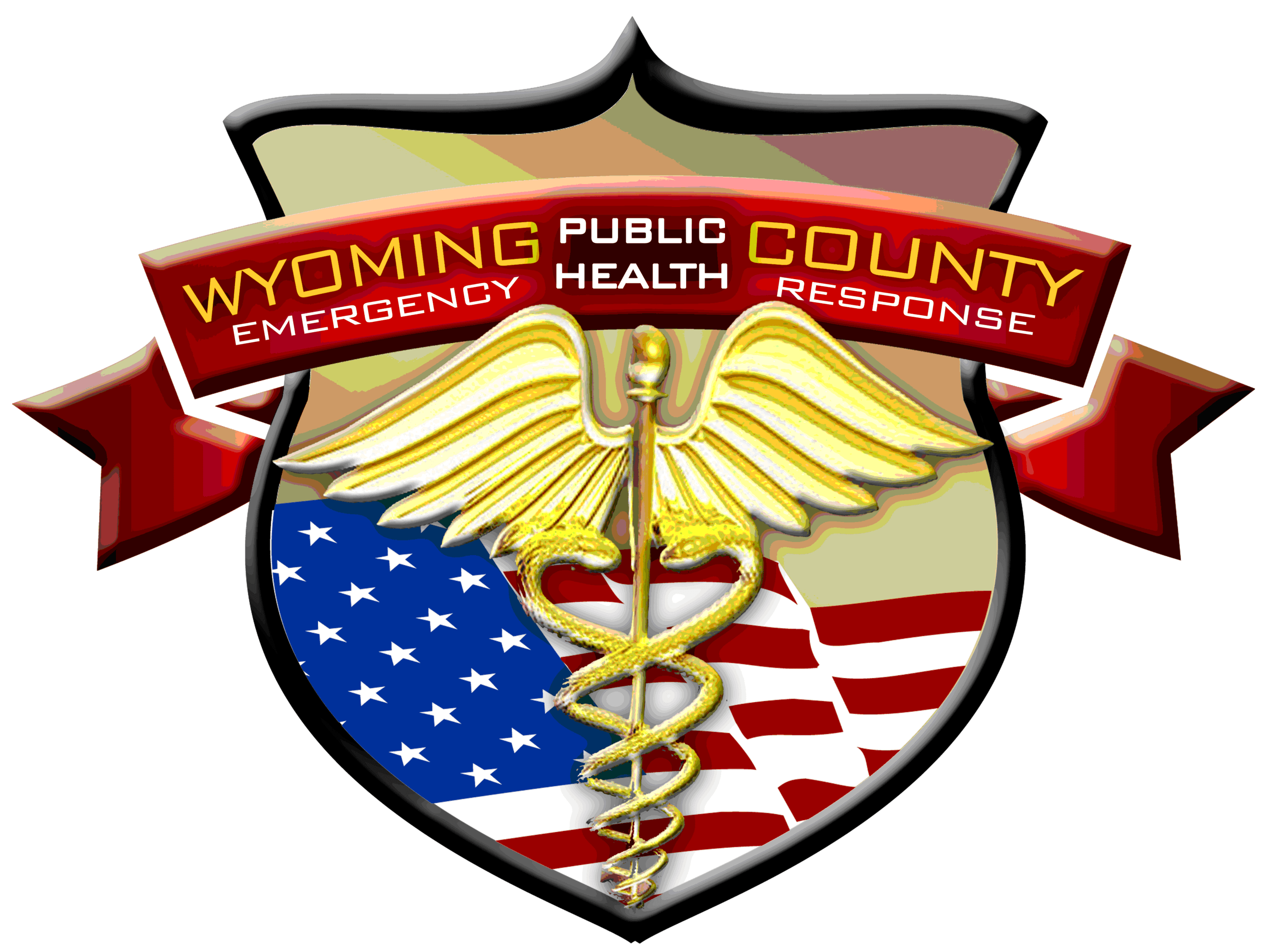 Wyoming County Public Health Logo