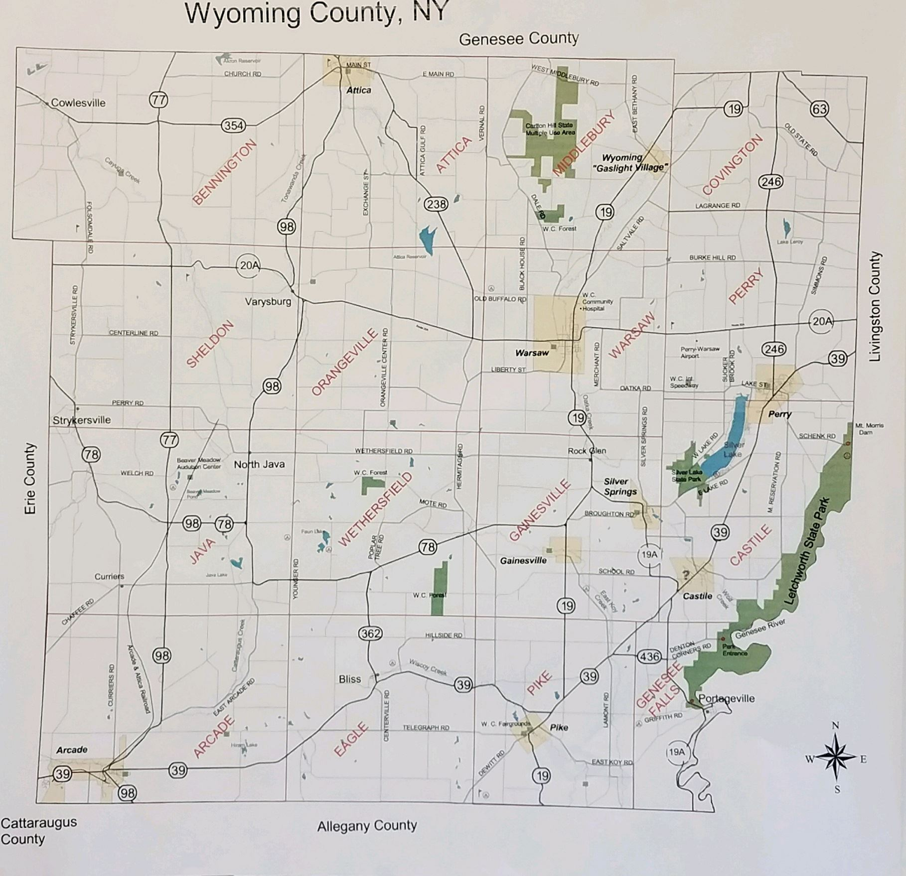 Wyoming County Zoning | Wyoming County, NY